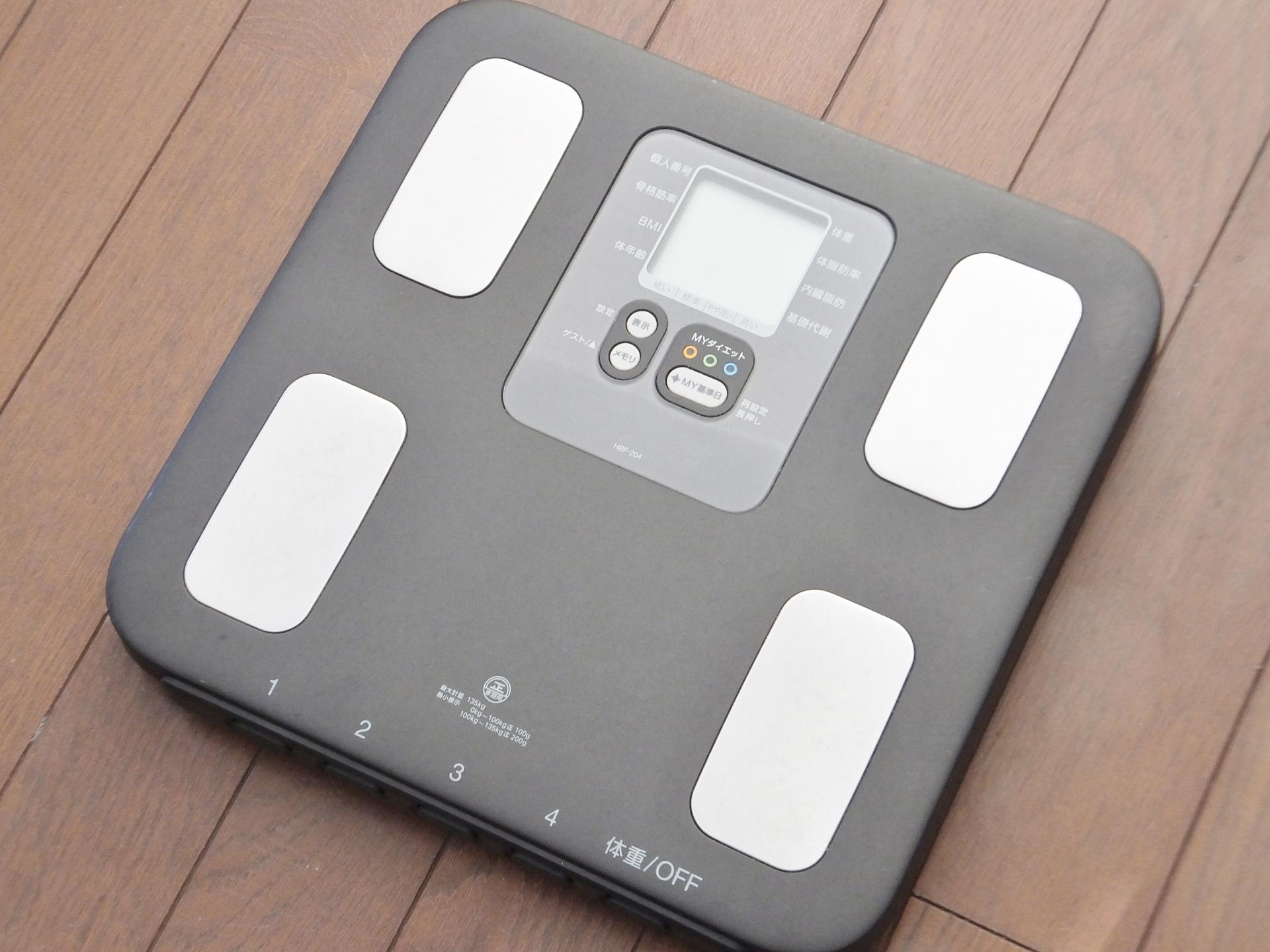【体重計】タニタ、オムロン、パナソニック、おすすめの1台は?